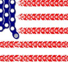 Bike USA Flag Sticker