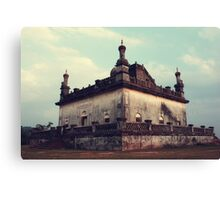 A Historic Tomb Canvas Print