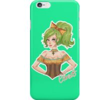 Claret - The Green Lady iPhone Case/Skin
