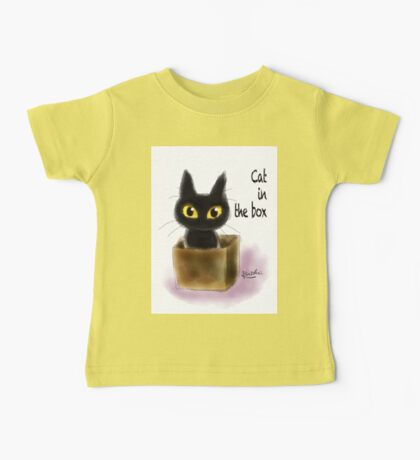 Cat in the box Baby Tee