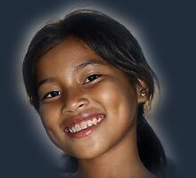 Young Cambodian Beauty by Bev Pascoe