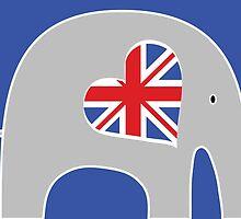 Brit Elephant by Elephant Love