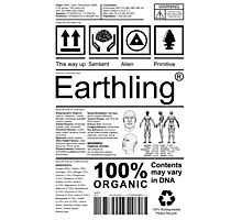 Earthling - Light Photographic Print