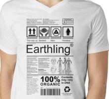Earthling - Light Mens V-Neck T-Shirt