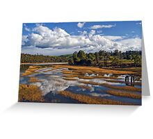 Rubicon Reflections Greeting Card