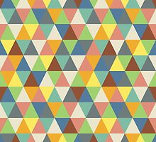Hippy triangles by Morag Anderson