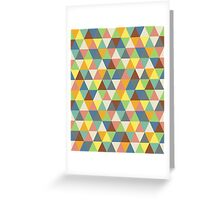 Hippy triangles Greeting Card