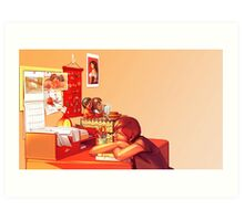 Clutter Art Print