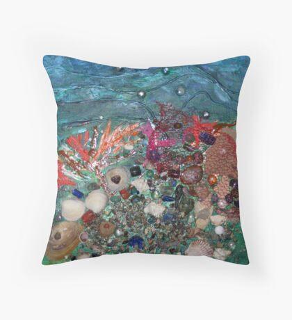 Sunken Treasure Throw Pillow
