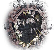 Kuroshitsuji (Black Butler) - Sebastian Michaelis & Undertaker by IzayaUke