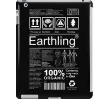 Earthling - Dark iPad Case/Skin