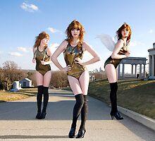 Three Angels by lauren ashley
