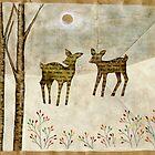 WInter Tale (deer) by naokosstoop