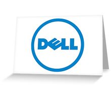 Dell Logo Greeting Card