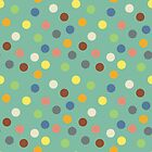 Hippy polka dots by Morag Anderson