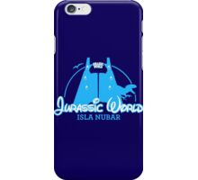 Jurassic World Disney Castle (BLUE) iPhone Case/Skin