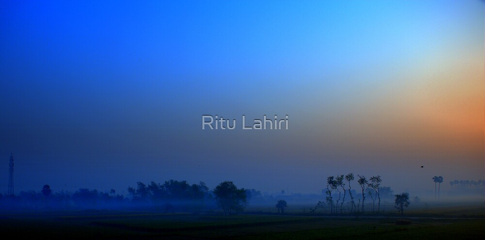 Sometimes I do get to places just when God's ready to have somebody click the shutter.  by Ritu Lahiri