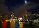 Melbourne at night by Nicoletté Thain Photography