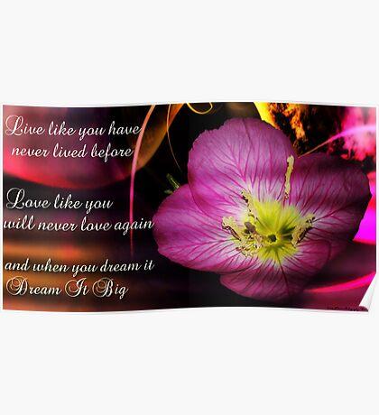 Live Love Dream ....................... Poster