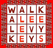 Walk Alee Levy Keys by alannarwhitney
