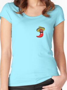 Sombrero Chilli Women's Fitted Scoop T-Shirt