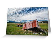 Bacala Barns Greeting Card