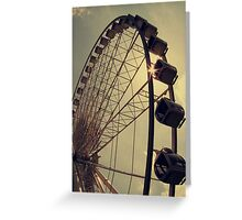 Take me up there, where I can see the world... Greeting Card