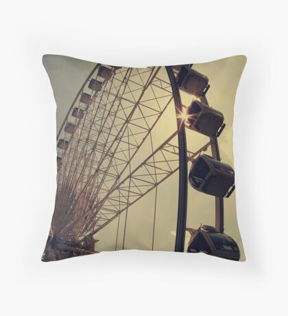 Take me up there, where I can see the world... Throw Pillow