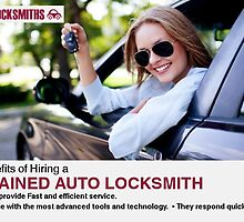 Benefits of Hiring a Trained Auto Locksmith by AutoLocksmiths