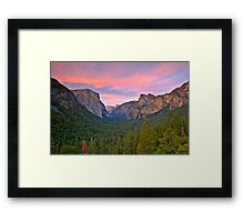 Yosemite Valley Spring Framed Print