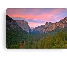 Yosemite Valley Spring Canvas Print