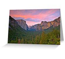 Yosemite Valley Spring Greeting Card