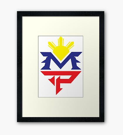Manny Pacquiao Pacman Boxing Mexico Framed Print
