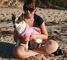 22. Belinda & her Jack Russell Terrior by Cathie Brooker