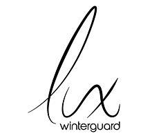 Lux Winterguard Products - Black on White logo by RiverCityRhythm