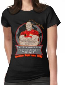 Khiropraktor Goro Womens Fitted T-Shirt