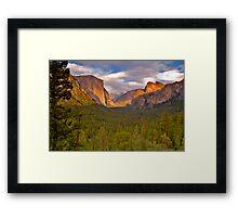 Yosemite Late Summer Framed Print