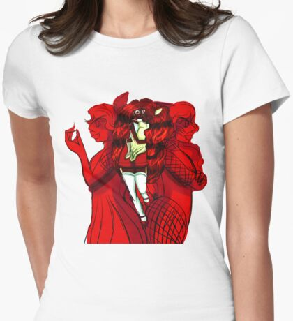Honey's Four Alter Egos Womens Fitted T-Shirt