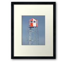 Fire Lookout Tower Framed Print