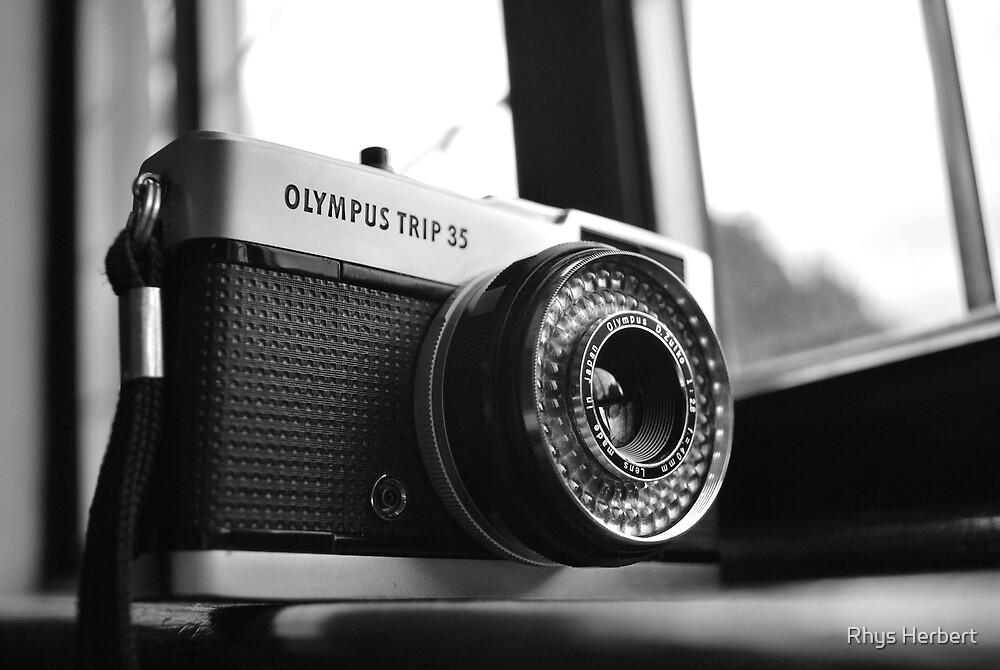 Olympus Trip 35 by Rhys Herbert