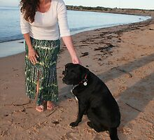25. Winsome & her Cattle Dog-Labrador by Cathie Brooker