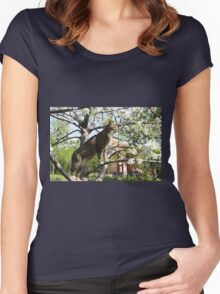 Mishu King of All He Surveys Women's Fitted Scoop T-Shirt