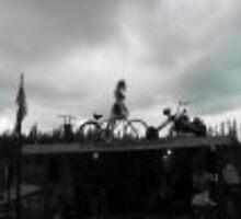 bicycle girl  by tamaray78