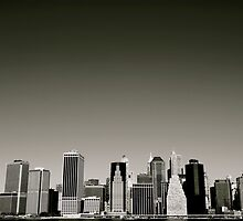 (NYC) Skyline by michel vaqué