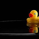 Duck and Droplet by James Burger