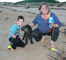 27. Tamar, Seb & their Spoodle by Cathie Brooker