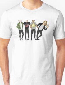 SKYSCRAPER NERDS Unisex T-Shirt