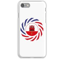 Gibraltarian American Multinational Patriot Flag Series iPhone Case/Skin