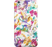 Colorful Abstract Design, Pastel Colours  iPhone Case/Skin