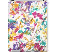 Colorful Abstract Design, Pastel Colours  iPad Case/Skin